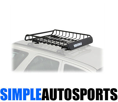 Yakima LoadWarrior Roof Top Cargo Safari Basket Rack 44x39x6.5 Black 8007070