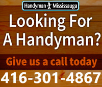 Mississauga Handyman - Renovations - Repairs - Installations
