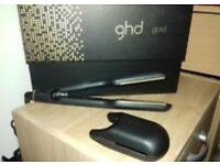 GHD gold hair straighteners DUNFERMLINE