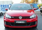 2010 Volkswagen Golf VI GTi Red Sports Automatic Dual Clutch Hatchback Campbelltown Campbelltown Area Preview
