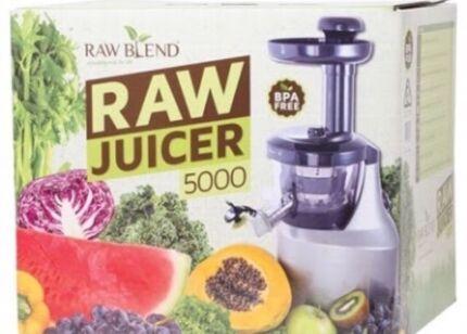 Raw juicer