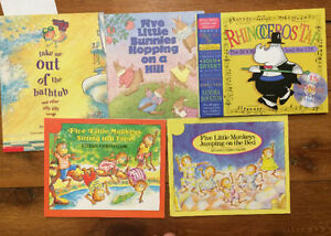 SONGS TO READ Children's Books $3 each or all 5 for $10