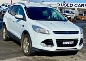 2013 Ford Kuga TF Trend PwrShift AWD White 6 Speed Sports Automatic Dual Clutch Wagon Albion Park Rail Shellharbour Area Preview