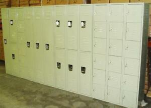 Gym Lockers, Gear lockers, Hockey gear lockers