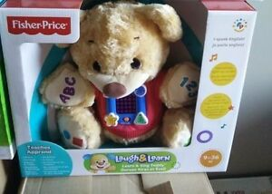 Fisher-Price - Learn and Sing Teddy