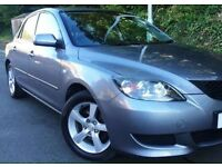 (((LOW MILEAGE -66,,000 ))) MAZDA 3 TS2 Sport EDITION (METALLIC )*MOT-21/12/17*EXCELLENT CONDITION*