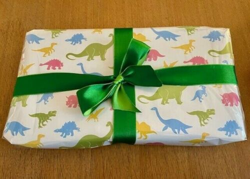 Dinosaur Pass The Parcel Party Game - (puffy Sticker Book & 9 Toys) New