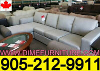 NO TAX 2PCS CANADIAN MADE SECTIONAL SET ONLY $799