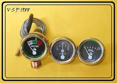 Ih Farmall Cub 100 130140200230- Oil Pressure Gaugetemp Gaugeammeter