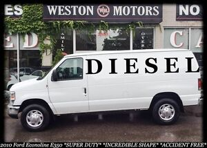 2010 Ford Econoline E350* SUPER DUTY* DIESEL*100% APPROVED!