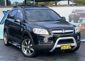 2009 Holden Captiva CG MY09 CX Black Sports Automatic Wagon Campbelltown Campbelltown Area Preview