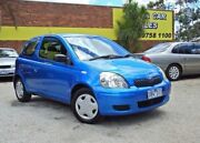2003 Toyota Echo NCP10R MY03 Blue 5 Speed Manual Hatchback Upper Ferntree Gully Knox Area Preview