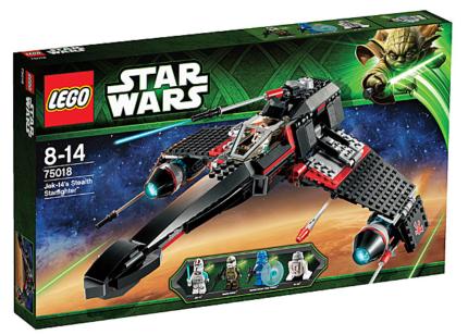 Lego Star Wars - 75018 Jek-14's Stealth Starfighter - Brand New
