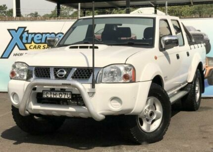 2012 Nissan Navara D22 S5 MY12 ST-R Special Edition White Manual Utility Campbelltown Campbelltown Area Preview