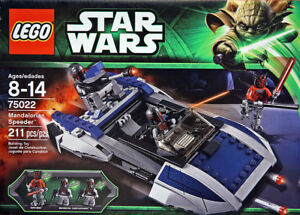 LEGO Star Wars Mandalorian Speeder: Model 75022
