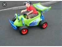 Toy story 12v ride on car