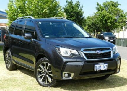 2018 Subaru Forester S4 MY18 XT CVT AWD Premium Grey 8 Speed Constant Variable Wagon Victoria Park Victoria Park Area Preview