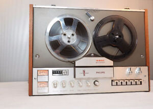 philips 4407 Reel-to Reel tape bobine 4 track tape player WORKS West Island Greater Montréal image 5