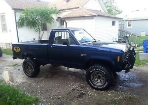 1984 Ford Ranger 4x4  trade for car or jeep