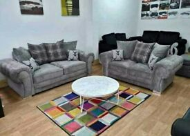 Verona Sofa Available in Grey and Mint Soft Fabric,high levels of comfort and Support.