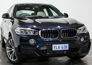 2016 BMW X6 F16 xDrive30d Coupe Steptronic Carbon Black 8 Speed Sports Automatic Wagon Rozelle Leichhardt Area Preview