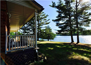 4 acres on Leslie Lake! Waterfront