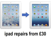 iPad Screen Repairs £30 BARGAIN Same day repairs Birmingham