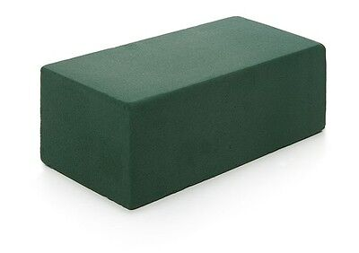 Cut to Size Wet Green Floral Foam Cube Brick Block Florish Flower Display Craft