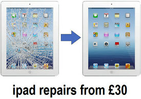 iPad 2 3 4, iPhone 5 Screen/ CRACKED GLASS DIGITIZER TOUCH SCREEN REPAIR REPLACEMENT SERVICE