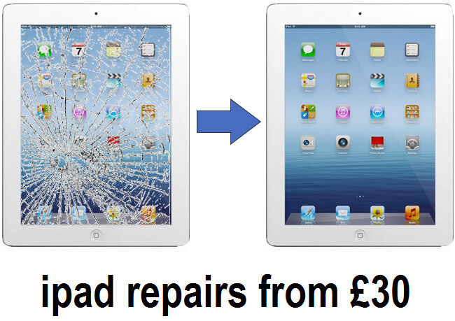 ipad air cracked screen repair cost