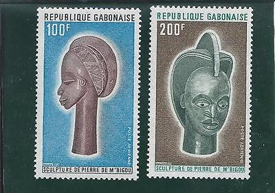 Gabon - 1973 Stone Sculptures - Un-mounted mint Set