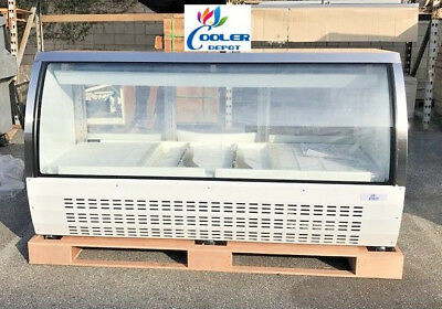 New 80 Commercial Deli Refrigerator Cooler Case Display Fridge Pastry Dc200 Nsf