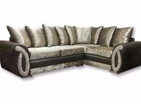 BRAND NEW DQF Helix 9ftx7ft Corner Sofa. ONLY £699!!!
