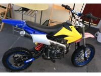 110cc stomp Pitbike pit bike like dt yz cr rs Kx ktm dr tzr etc
