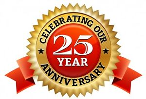 25 YEARS ANNIVERSARY !! FREE FREE LAPTOP COOLING PAD AND MORE!!