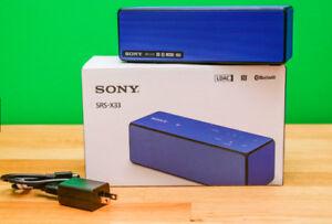 Sony SRSX33 20W Portable Wireless Speaker w/ NFC / Bluetooth
