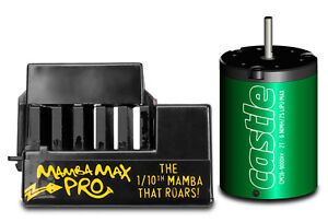 New In Box Castle Creations Mamba Max Pro ESC & 5700kv Brushless Motor Combo
