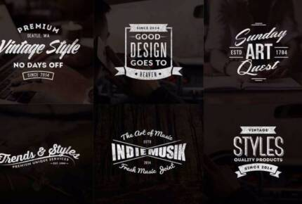 HOT! Vintage Business Logos - Just $29