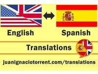 Spanish - English - Spanish Translations - First Hour Free of Charge!