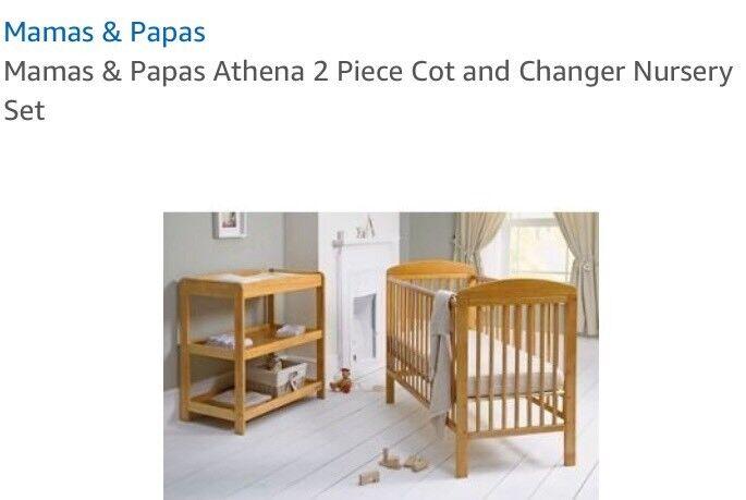 Mamas And Papas Nursery Furniture Set