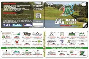 Golf NB 2 for 1 Discount Card