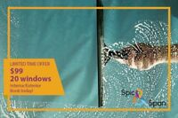 Spic&Span window cleaning