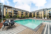 Condo Fully Furnished-2 bdr 1 bath w/garage parking, gym & pool