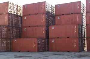 Excellent Shape Shipping and Storage Containers - 20' & 40'