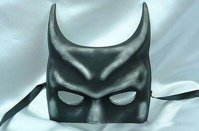 Men's Batman Costume Venetian Masquerade Mask - Black