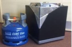 Gas heater and bottle