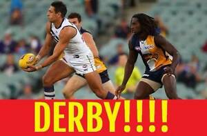 1-8 DERBY TICKETS WEST COAST EAGLES V FREMANTLE DOCKERS Subiaco Subiaco Area Preview