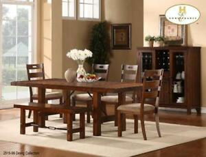 round glass dining table set (MA940)