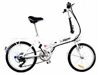New Z1 7 speed compact Folding electric bikes Free uk delivery