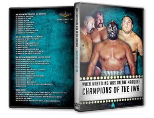 Pro Wrestling Champions of IWA DVD, Mil Mascaras, The Mongols, Rip Hawk NWA